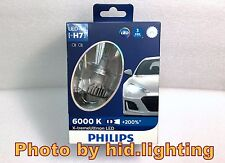 GENUINE Philips H7 +200% bulb light LED 6000K Pure White Headlight lamp 12V 25W