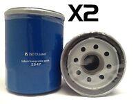 2x Oil Filter Suits Z547 HONDA CRV CRV 2.4L 2007-ON
