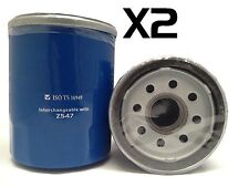 2x Oil Filter Suits Z547 NISSAN PATHFINDER R51 SERIES VQ40 6CYL 4L 2005-2010
