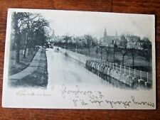 Cupar From The Eden, near Glenrothes, & St Andrews, Valentines PC PM 1903 Cupar