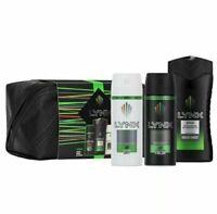 Lynx Africa Bodyspray Bodywash Anti-Perspirant Washbag Gift Set