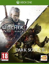 The Witcher III Wild Hunt + Dark Souls III Compilation Xbox One Game