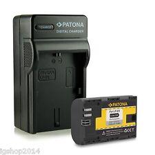Batteria LP-E6 più caricabatteria per Canon EOS 7D 70D 60D 60Da 5D Mark III EOS