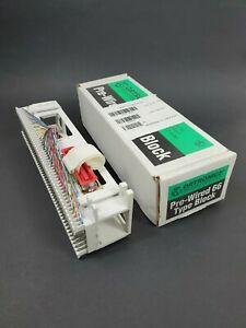 Pre-Wired 96 type Block Ortronics OR-8050M66M150 Modular 66M150 25P/M