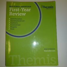Themis Bar Review First-Year Review Civ Pro; Con Law; K's; Crim; Prop; Torts B47