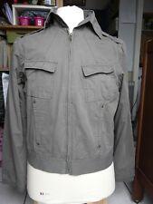 Casual BLOUSON Veste homme kaki vintage Marque : WEEKENDER Taille XL - 102 cm