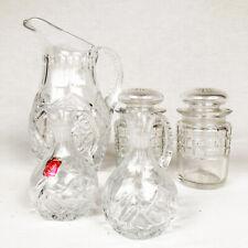 Lot de verrerie et cristal taillé