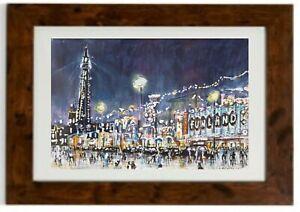 Blackpool Illuminations Framed Print