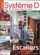 Système D n° 732 escalier bien les choisir un meuble vasque tout bois le plan