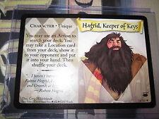 HARRY POTTER TCG DIAGON ALLEY HAGRID KEEPER OF KEYS 14/ 80 RARE ENGLISH MINT
