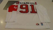 Team Canada 2014 Sochi Winter Olympics Hockey Jersey L White Steven Stamkos