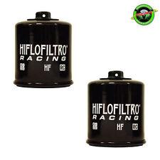 2x Hiflo HF138RC Racing Oil Filter - Suzuki GSXR750 SRAD 1996-1999