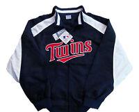 Minnesota Twins Majestic MLB Full Zip Lightweight Jacket Big & Tall Sizes NWT