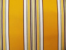 Markisenstoff gelb natur Meterware Stoff für Markisen senfgelb 160cm breit   T23