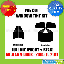 AUDI A6 4-DOOR 2005-2011 FULL PRE CUT WINDOW TINT KIT