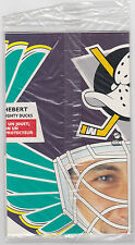 1994-95 KRAFT GUY HEBERT GOALIE MASKS #2 ANAHEIM MIGHTY DUCKS