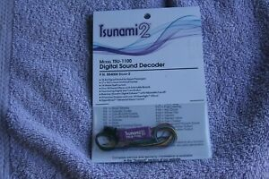 Soundtraxx Tsunami 2 Sound Decoder, TSU-1100,  for Steam