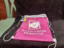 Build A Bear Workshop - BAB - Pink Reuse Bag With Drawstring - New With Tags
