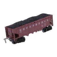 1/87 DIY Train Model Freight Car Railroad Car Train Carriages Kid Toy Gift F