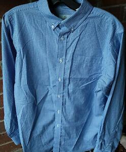 """xMens Shirt Sz18-20-""""class Club""""blue ck        .P84"""