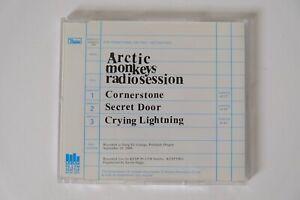 Arctic Monkeys ULTRA RARE 'Radio Session' 3-Track CD Promo
