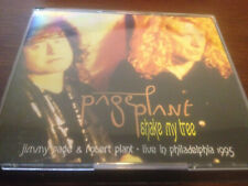 Jimmy Page & Robert Plant Live in Philly Shake My Tree 2 silver discs Led Zeppel