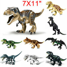 2X Dinosaurier Spielzeug Tyrannosaurus Rex Jurassic World Dinosaurs Bausteine DE