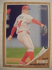 JESSE BIDDLE 2011 Topps Heritage Minors baseball card 65 QTY PIRATES PHILLIES RC