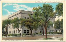 Red Willow County Court House in McCook NE Postcard