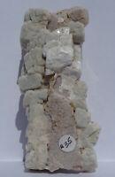 Crisp ALBITE Xls on ORTHOCLASE Core--Organ district, New Mexico--Em's Gems Label