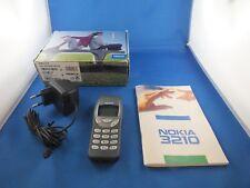100% original Nokia 3210 gris celular Grey absolutamente OVP culto phone m cargador Top