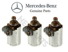 For Mercedes R129 W140 C209 CL600 Set of 3 Transmission Solenoid Valves Genuine