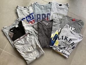 10 Herren T-Shirts - Puma, Adidas, Diesel, G-Star - Gr. M