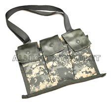 US Military AR 15 Bandolier 6 Magazine Pouch 30 Round w/ Strap Molle ACU NEW