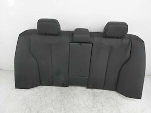 2016 2017 2018 Bmw 320I Base Sedan Rear Upper Seat Portion - Black