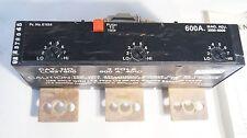 ITE JD LD 3 Pole 600 Amp Breaker Trip Unit 40°C Siemens-Allis Mag. Adj 3000-6000