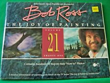 THE JOY OF PAINTING V21 BY BOB ROSS 1990 OIL TV SERIES STEP BY STEP PAINT BOOK