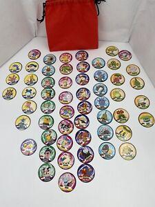POKEMON 2007 Champion Island REPLACEMENT Pieces. Academy Crests Pokemon Discs.