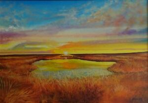 African Plain Limited Edition A4 A3 A2 PRINT of Original Oil Painting