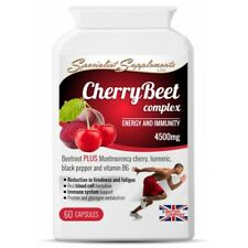 Montmorency Cherry Beetroot Energy Fatigue Metabolism Antioxidants Supplements