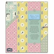 a Stitch in Time Greeting Card Organiser Keepsake Folder With Elastic Closure