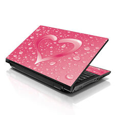 "13.3"" 15.6"" 16"" Laptop Skin Sticker Notebook Decal Pink Heart M-1695"