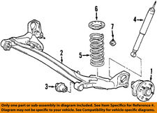 TOYOTA OEM 98-03 Sienna Rear Suspension-Coil Spring 48231AE014