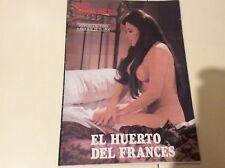 FILM SEX, EL HUERTO DEL FRANCES, Mª JOSE CANTUDO, AGATA LYS, PAUL NASCHY, TERESA