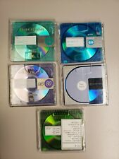 New ListingMinidisc Lot / 5 MinDisc with Cases Assorted Music