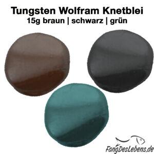 Tungsten Putty Knetblei 15g, Wolframpaste, Bleifrei, Karpfen Feeding
