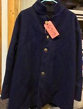 Us Civil War Union Wool Coat Lot Black with Four Brass Buttons Make Offer!