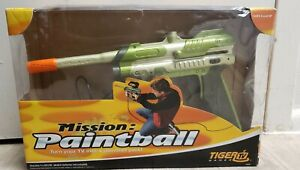 2004 Hasbro Mission Paintball Tiger Plug and Play TV Game with Box. No Manual