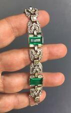 bracelet ancien Art Déco / vintage Art Deco bangle