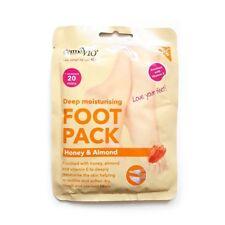 Derma V10 Deep Moisturising Foot Pack With Honey & Almond x10 packs
